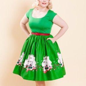 Pinup girl dress, Mary Blair